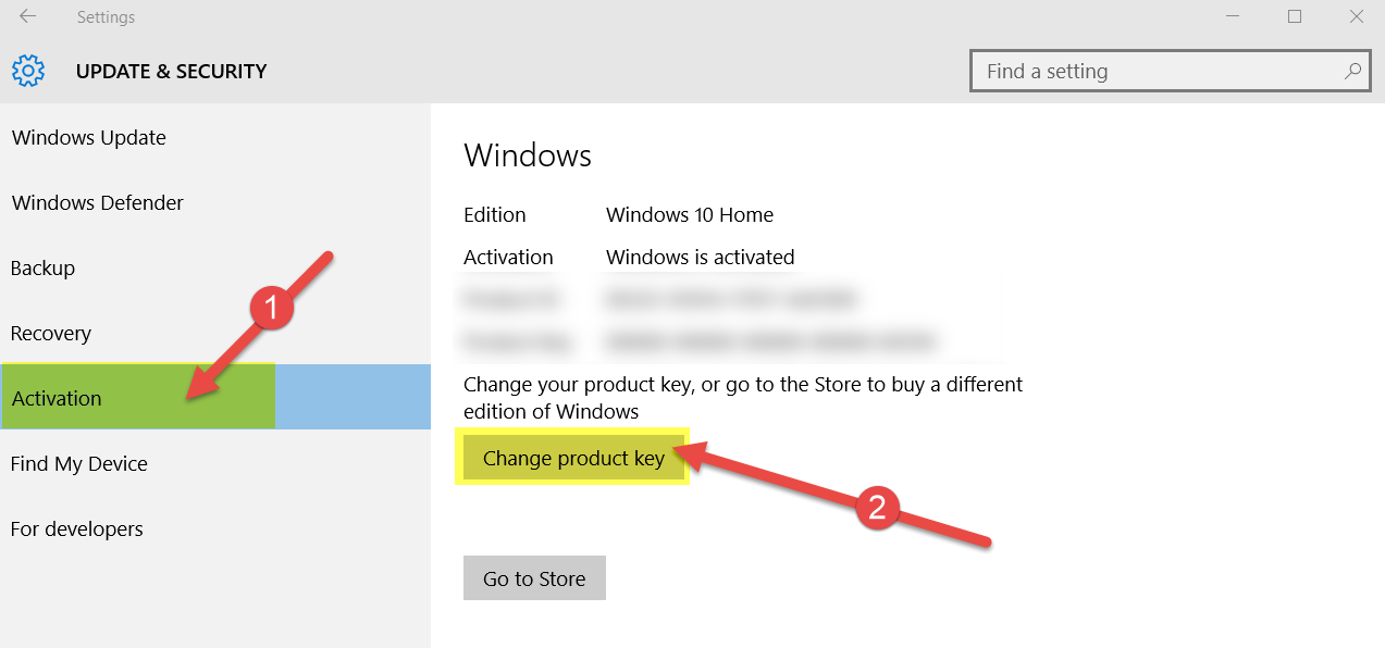 Upgrade from Windows 10 Home to Windows 10 Pro ...