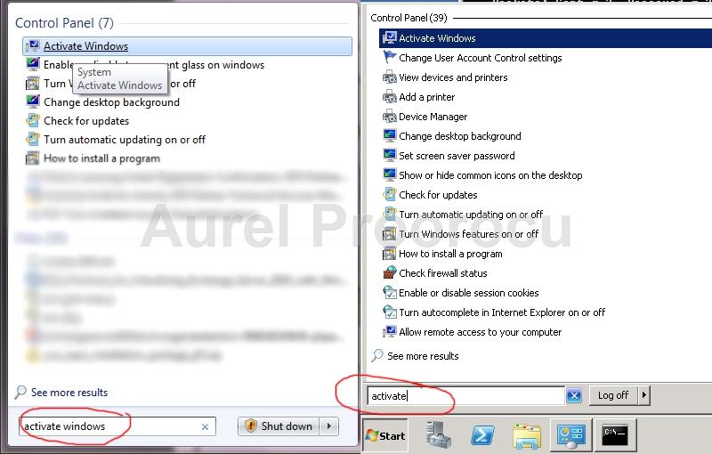 check windows 7 activation