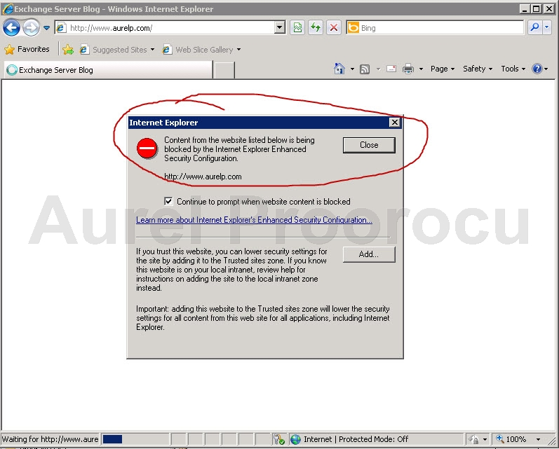 How to Turn off Internet Explorer Enhanced Security