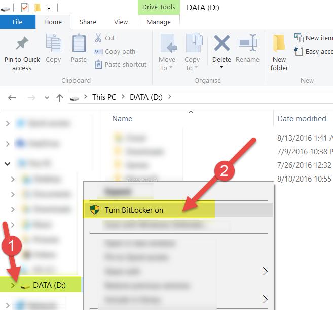 bitlocker windows 10 home edition | Tech Blog (Microsoft, Google and