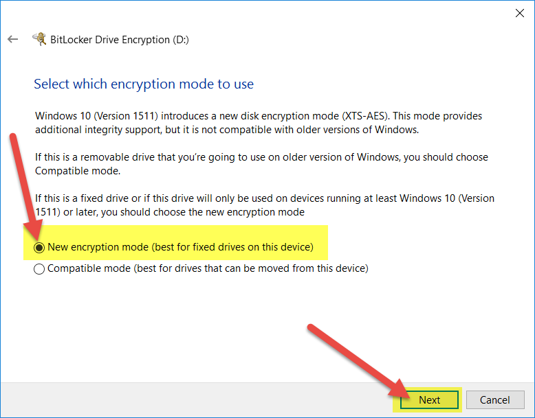 How to encrypt your HDD/USB Stick/USB HDD using BitLocker
