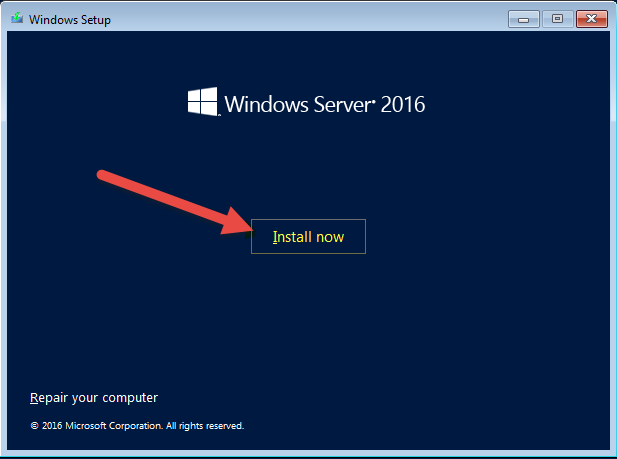 Windows Server 2016 – Step-by-Step Installation & What's new